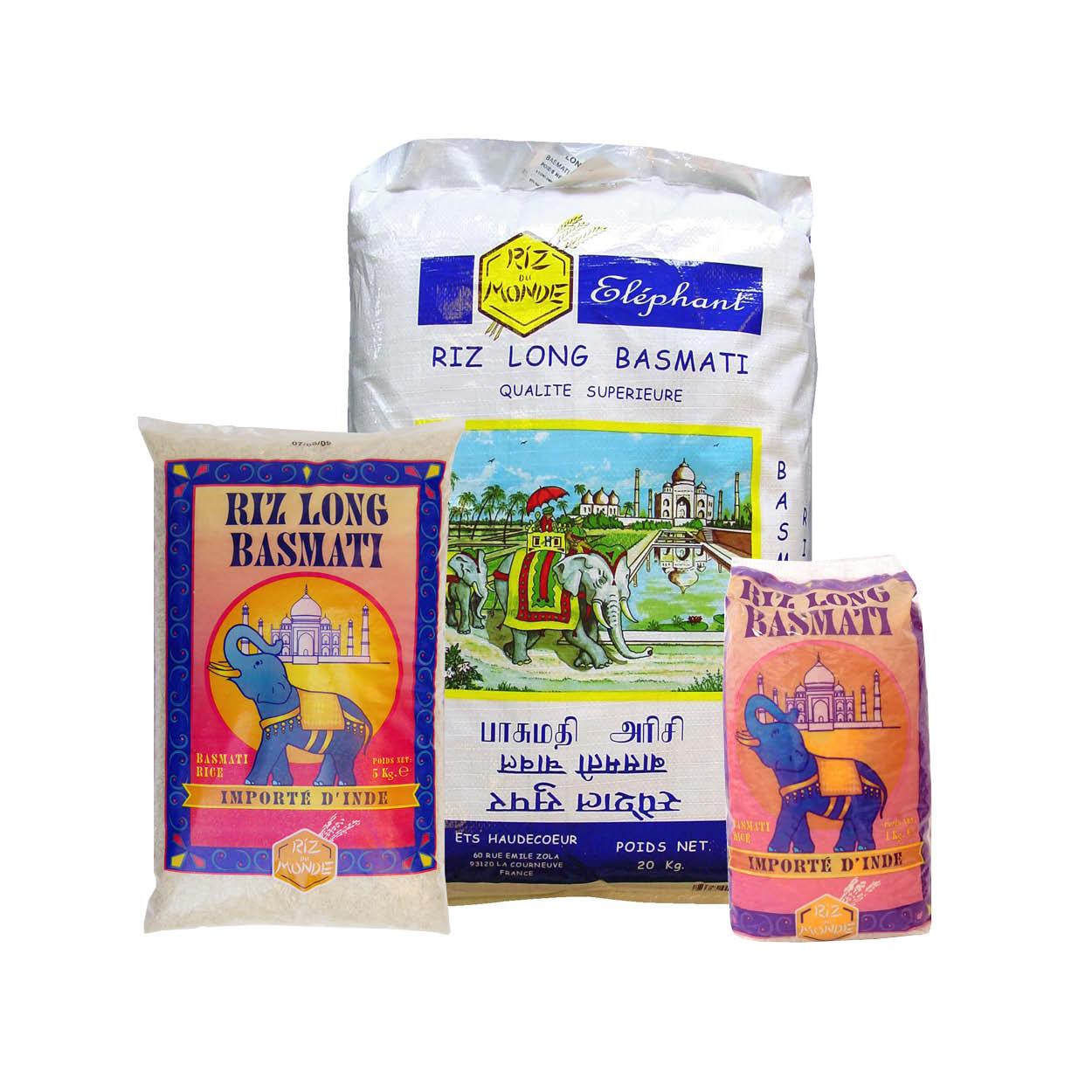 Basmati rice ELEPHANT – Haudecoeur