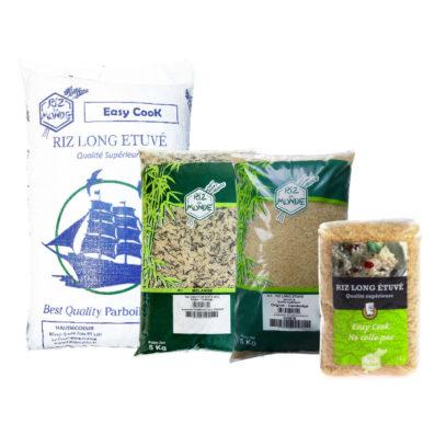 Haudecoeur propose du riz étuvé