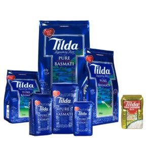 Haudecoeur distribue du riz de la marque Tilda