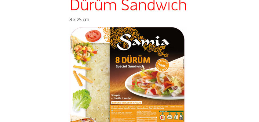 Nouveau: le dürüm spécial sandwich est arrivé !