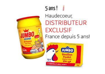 Haudecoeur, distributeur exclusif JUMBO depuis 5 ans !