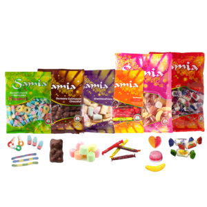 Halal Candies SAMIA Big Packaging