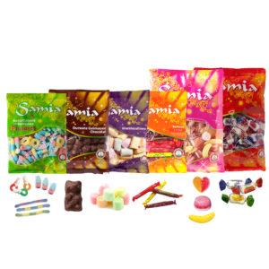 Bonbons halal gros sachets SAMIA