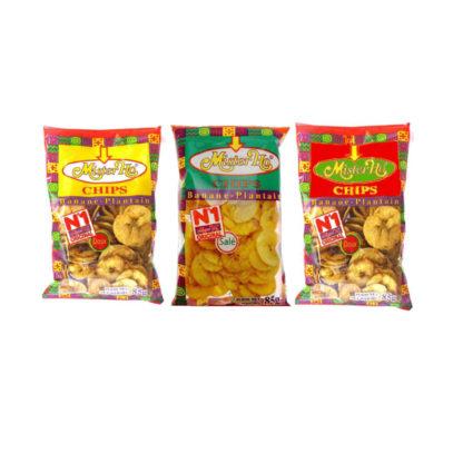 Haudecoeur propose des chips de banane plantain mister ho