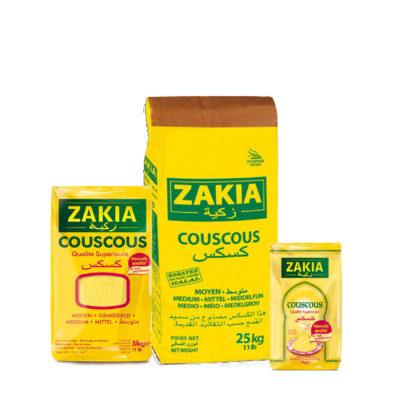 Zakia propose plusieurs conditionnements de couscous