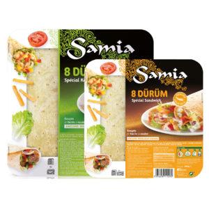 Special kebab bread dürüm SAMIA