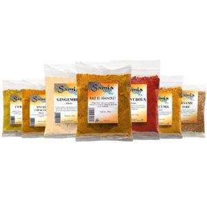 Haudecoeur propose une large gamme d'épices