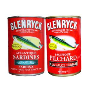 GLENRYCK sardines