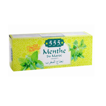 Haudecoeur propose du thé à la menthe 555