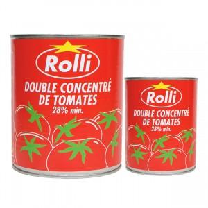 Haudecoeur propose de la tomate concentrée Rolli
