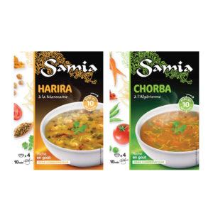SAMIA halal soups