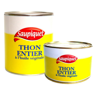 Haudecoeur distribue du thon à l'huile Saupiquet