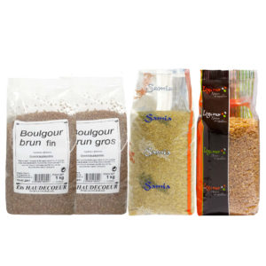 Bulgur and other wheats