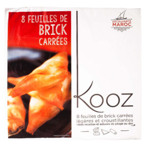 Kooz propose des feuilles de brick carées