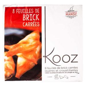 KOOZ square pastry sheets