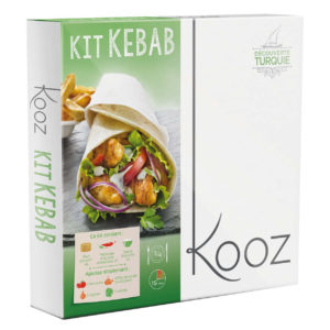 Kooz propose un kit kebab