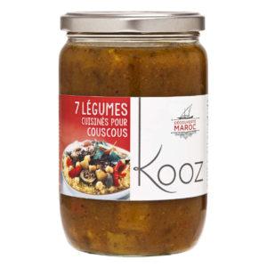 KOOZ cooked vegetables