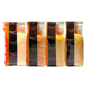 Corn and corn semolina