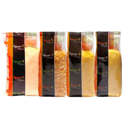 Haudecoeur propose plusieurs types de féculents à base de maïs