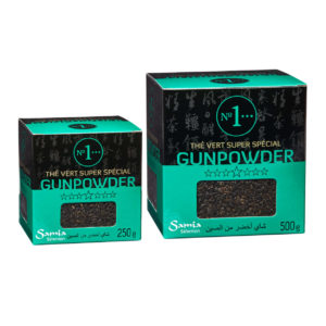Gunpowder green tea N°1
