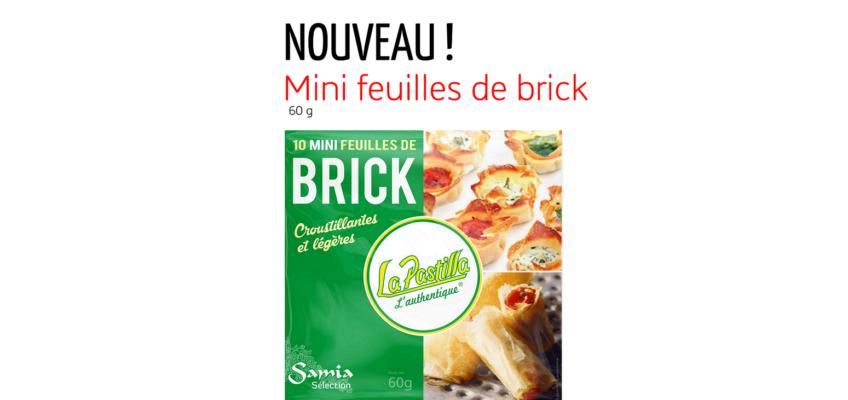 Nouveau : Découvrez la mini feuille de brick !