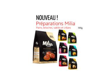 Nouveau : Découvrez les préparations Milia !