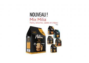 Nouveau : Découvrez les mix Milia !