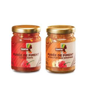 Purées de piment